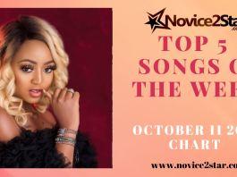 Top 5 Nigerian Songs Of The Week – October 11 2019 Chart