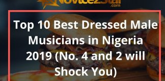 Top 10 Best Dressed Male Musicians in Nigeria 2019 (No. 4 and 2 will Shock You)