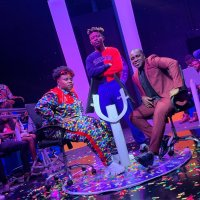 "Teni in ""Who Wants To Be A Millionaire"" with Frank Edoho (SEE PHOTO)"