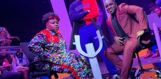 """Teni in """"Who Wants To Be A Millionaire"""" with Frank Edoho (SEE PHOTO)"""