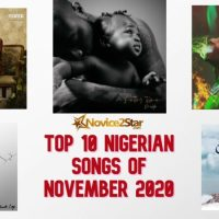 Top 10 Nigerian Songs Of November 2020