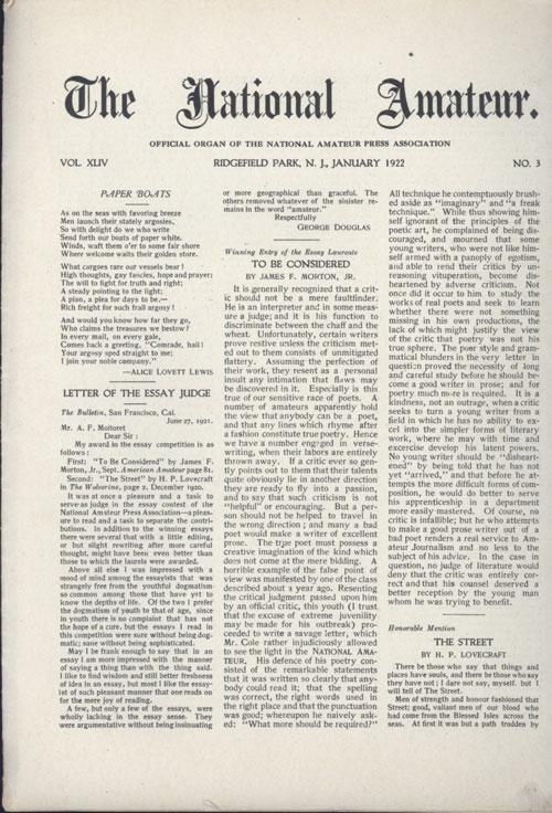 H.P. Lovecraft - Terrores Bibliográficos (1917-1959)   Noviembre Nocturno 17