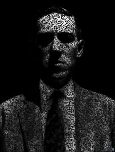 H. P. Lovecraft by Juana Osborne