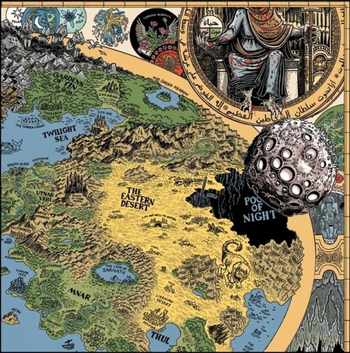 Las Tierras del Sueño de Jason Thompson (Detalle 3)