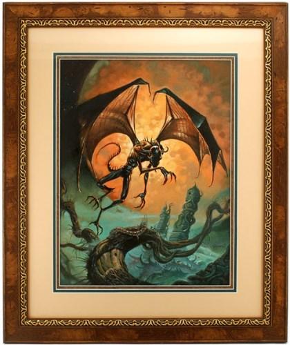 Las Montañas de la Locura - Un Tributo (pictórico) a los escritos de Lovecraft | Noviembre Nocturno 4