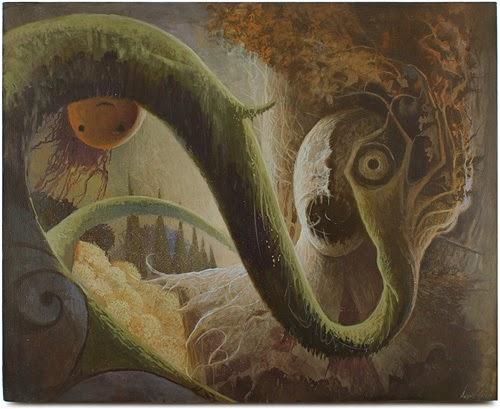 Las Montañas de la Locura - Un Tributo (pictórico) a los escritos de Lovecraft | Noviembre Nocturno 2