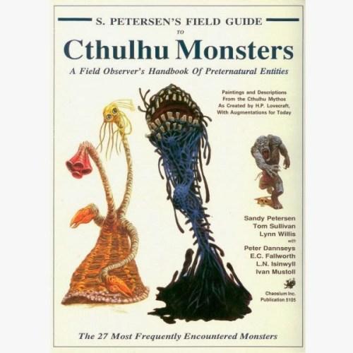 Sandy Petersen y su Guía de Campo sobre las criaturas del Gran Cthulhu | Noviembre Nocturno 32
