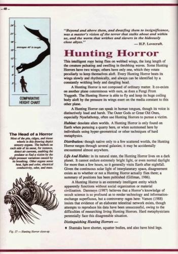 Sandy Petersen y su Guía de Campo sobre las criaturas del Gran Cthulhu | Noviembre Nocturno 21