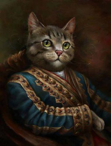 Eldar Zakilov, gatos, ulthar, noviembre nocturno