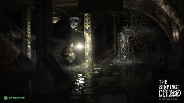 """""""The Sinking City"""" by Frogwares Noviembre Nocturno, Lovecraft, mitos de Cthulhu"""