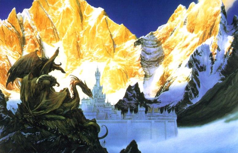 """""""Gondolin"""" by John Howe"""