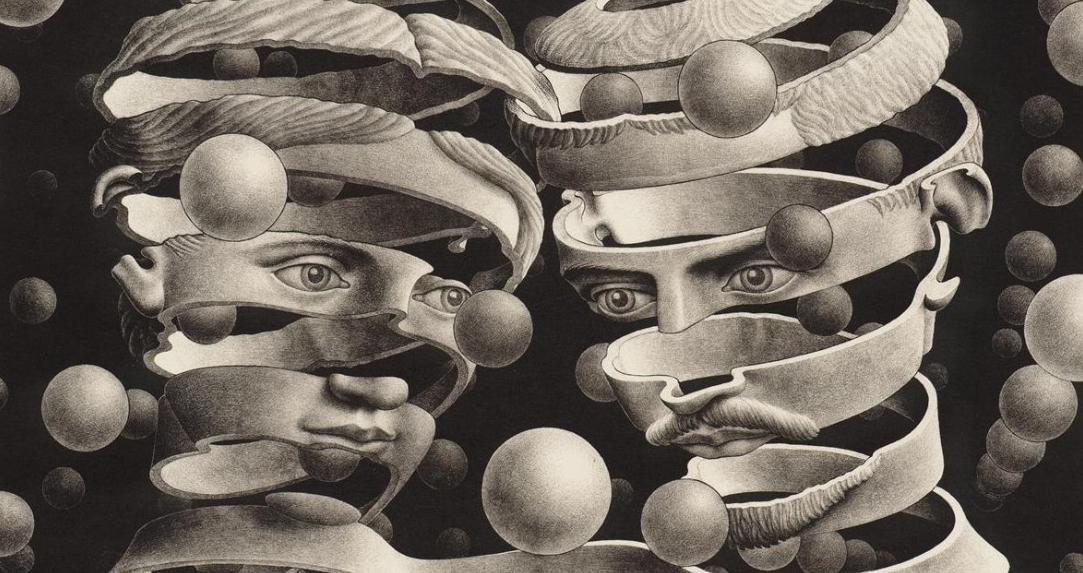 M.C. Escher- Bond of Union Cortázar Noviembre Nocturno