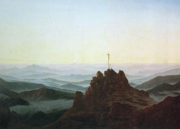 Morning in the Riesengebirge, Caspar David Friedrich