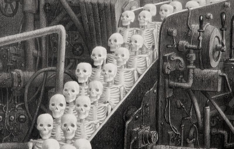 Laurie Lipton - The Dead Factory