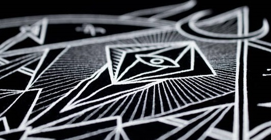 Atlas negro Art and design by Alva Aur And Noviembre Nocturno