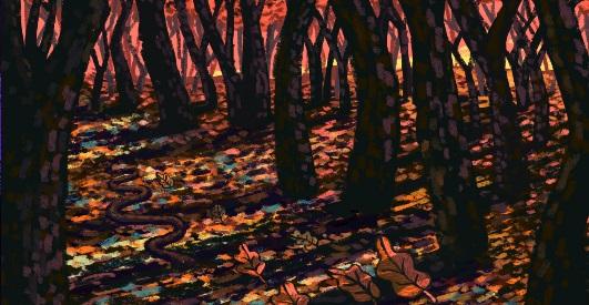 Blackwood bosque encantado