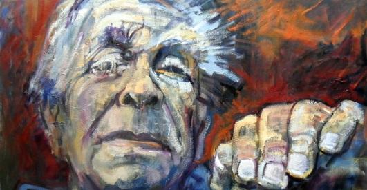 Borges by Beti Alonso Noviembre Nocturno