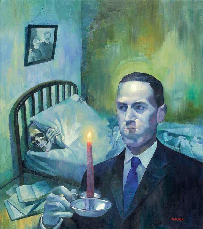 H. P. Lovecraft Hongos de Yuggoth Noviembre Nocturno