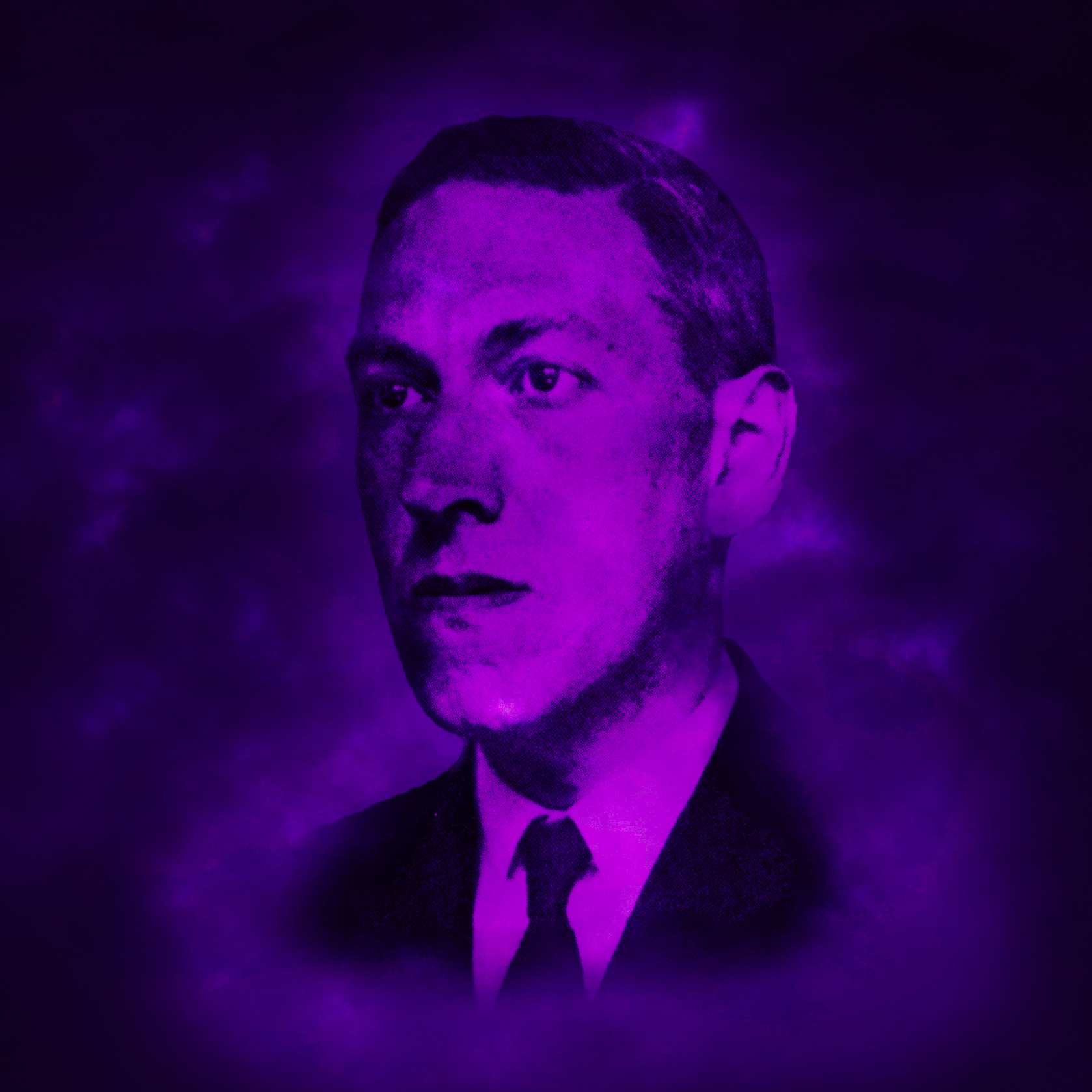 H. P. Lovecraft design by Alva Aur