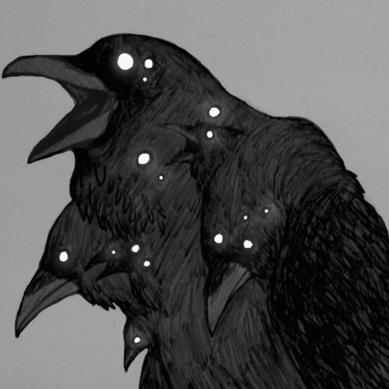 Raven by artist unknown