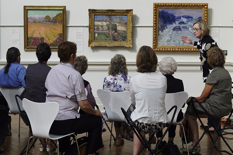 "Una lezione di ""Art and dementia"""
