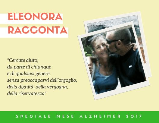 Eleonora e Sandro affetto da demenza frontotemporale