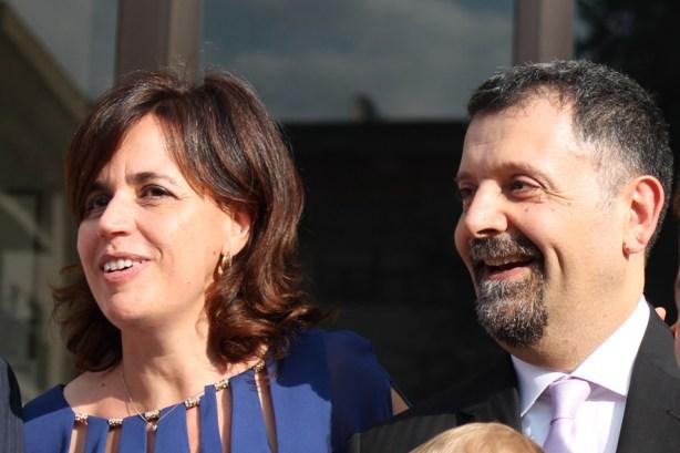 Nella foto, Cristina e Livio