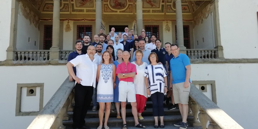 Il gruppo di studenti e relatori della Remind Summer School, ed. 2018