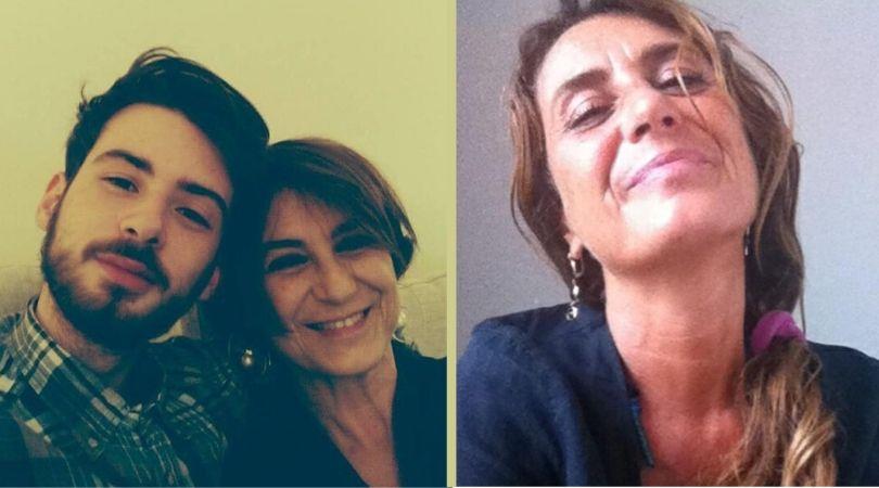 Foto di Daniele e sua mamma Gabriella colpita da demenza frontotemporale con SLA