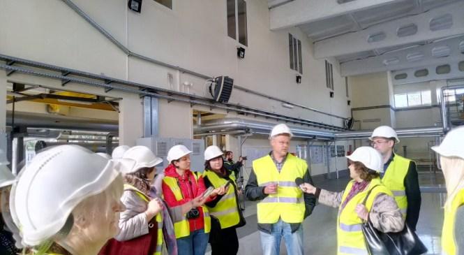 Житомирські журналісти ознайомилися з енергоефективними об'єктами у Вінниці.