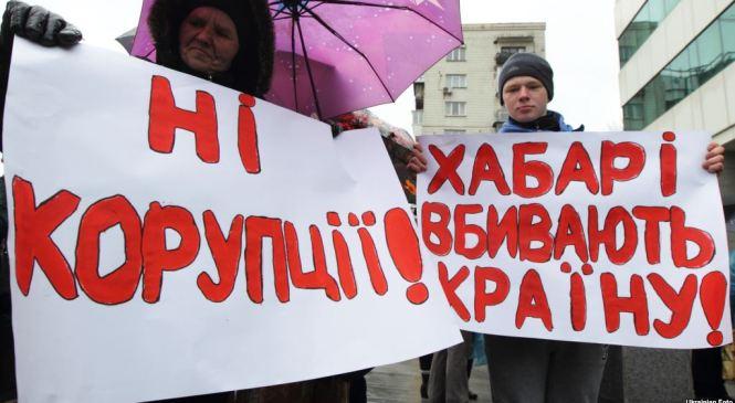 Військовий конфлікт на Сході України  та хабарництво і корупція у владі  – основні загальнодержавні проблеми за оцінками українців