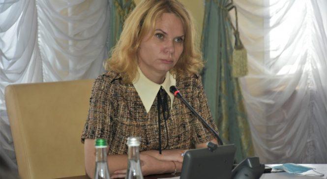 Наталія Остапченко провела засідання госпітальної ради щодо розширення мережі опорних лікарень області
