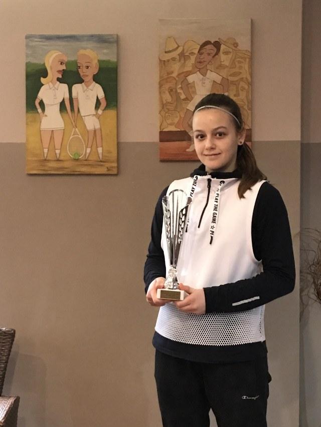 Niška teniserka vicešampionka Kupa Srbije