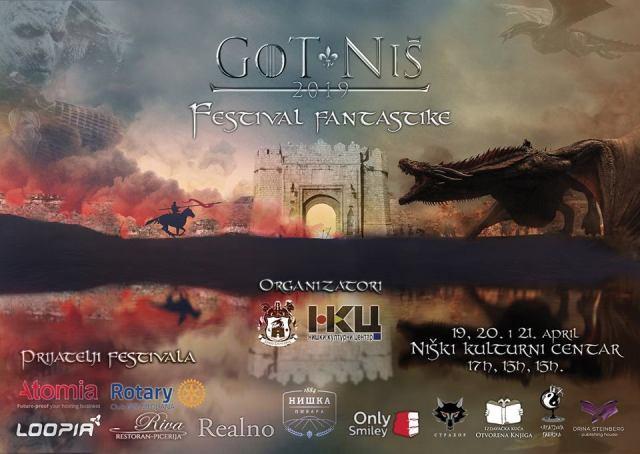 Plakati i programi Festivala fantastike u Nisu