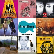 Soundtracks - alle film muziek, musical, muziek uit televisie series, official motion picture scores!