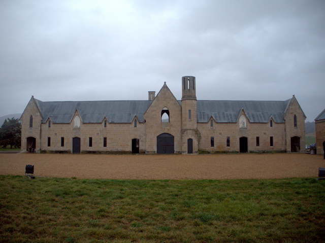 The gothis style stables at Shene Estate