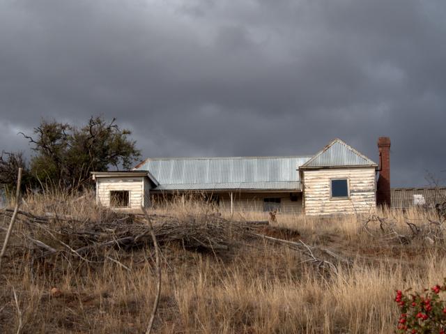 An old farmhouse near Bushy Park