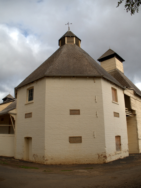The rear of the Text Kiln