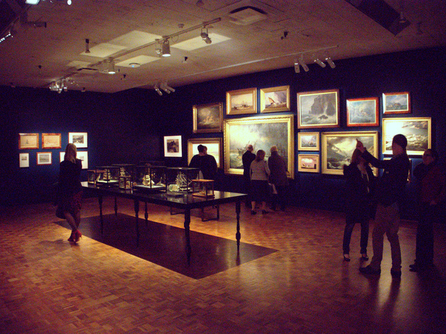 An entire gallery is given over to historic paintings of ships and shipwrecks as well as an impressive display of ships in bottles and other maritime models