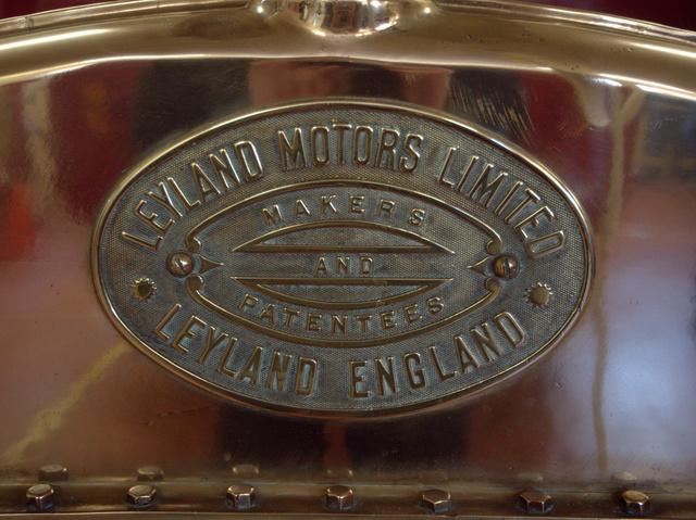 Leyland brass