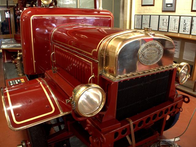 Leyland fire truck