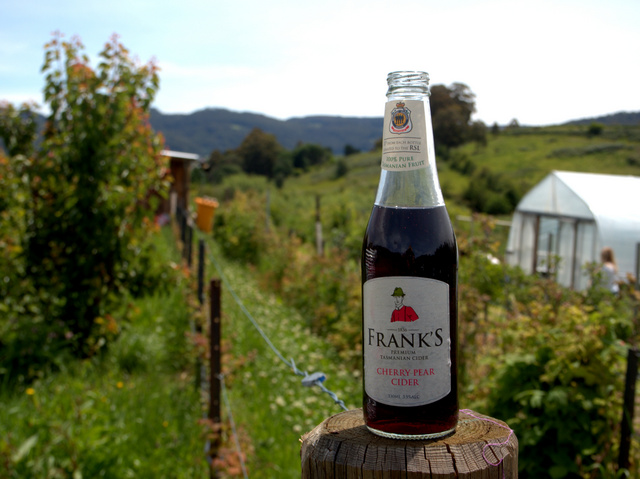 Franks Cherry Pear Cider is one of my absolute favourite summer tipples