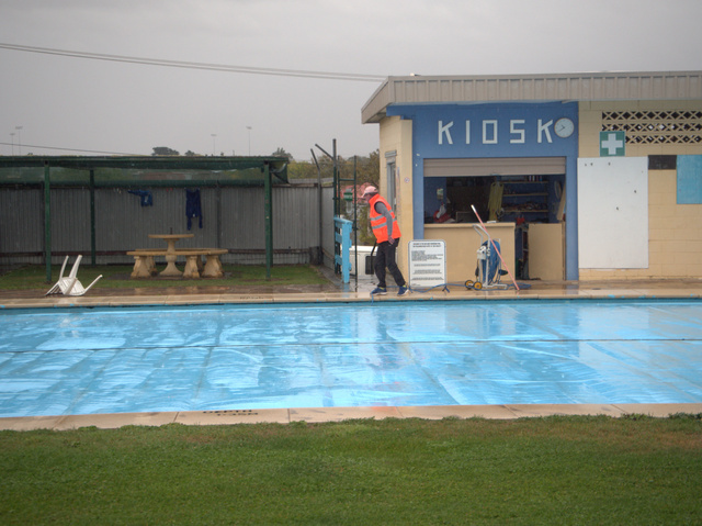 The municipal swimming pool was built over the old gaol yard in the 1950s