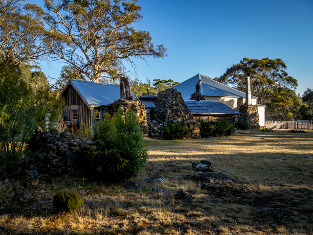 The Steppes Homestead in Tasmania's Central Highlands