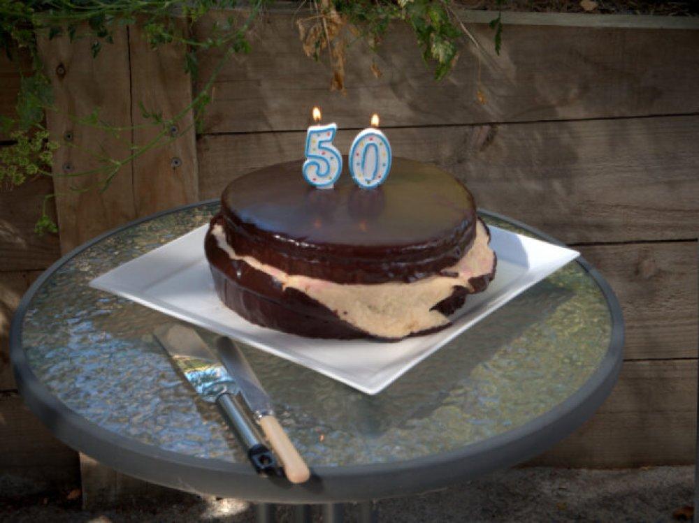 Birthday cake, courtesy of Kiri