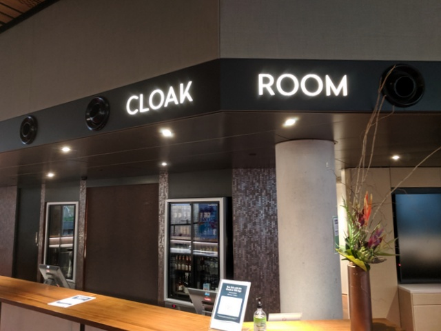A cloak room was something patrons of the Theatre could only dream of due to lack of space