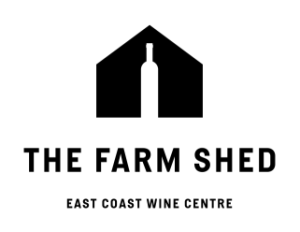 The Farm Shed Logo - Reversed