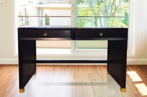 Console desk, bespoke furniture