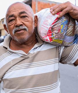 Campanha Busão solidário: participe desta corrente do bem