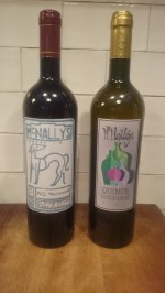 2015 and 2015 bottles
